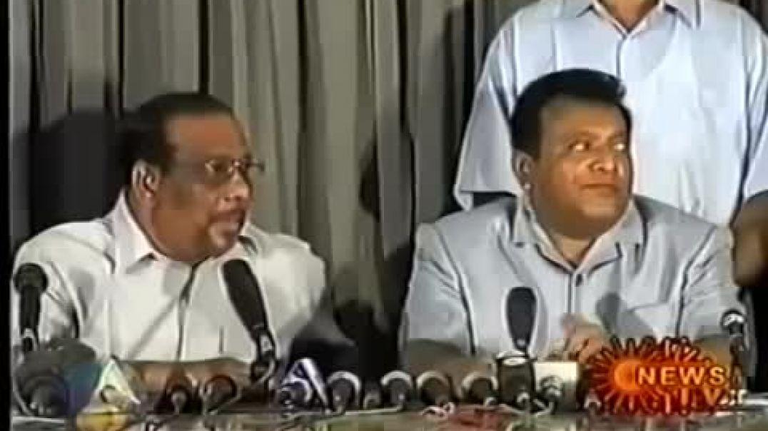 LTTE Press conference in Kilinochi (2002)  - விடுதலைப்புலிகள் பத்திரிகையாளர் சந்திப்பு 2002
