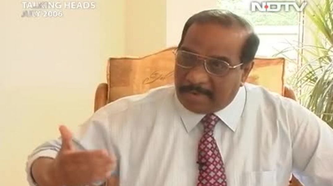 NDTV Anton Balasingham Interview (Aired July 2006)