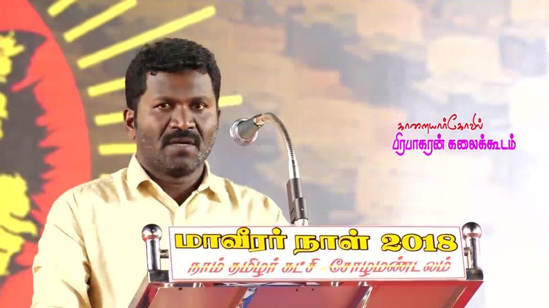 பேராவூரணி திலீபன் உரை | மாவீரர்நாள் 2018 | Thilipan Speech