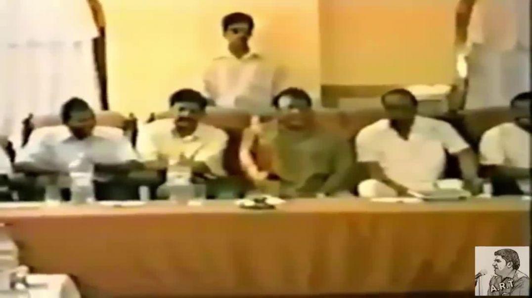 LTTE Leader meeting TNA and Muslim Congress in 2002