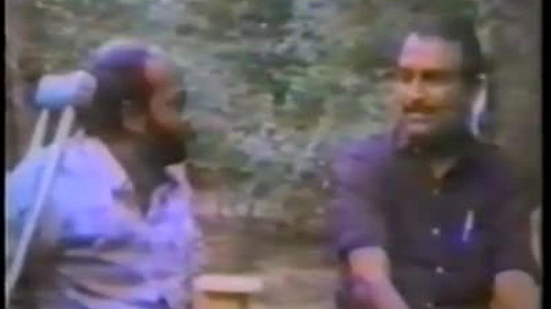 கிட்டு அண்ணன், வைகோ வன்னி காட்டில்