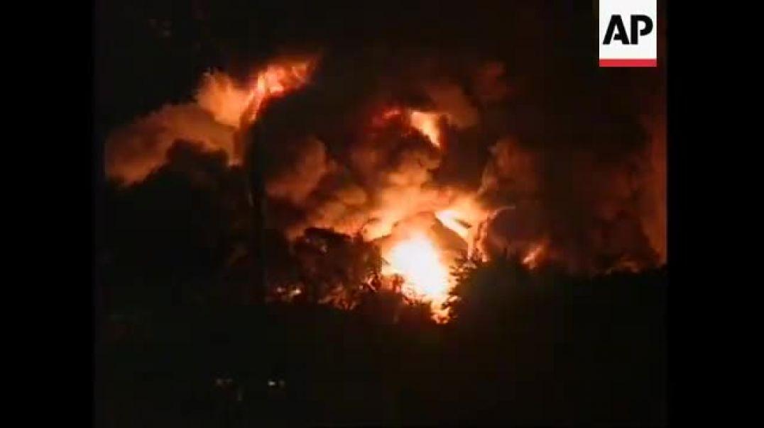 Oct 20, 1995 கொலன்னாவை எண்ணெய் குதம் மீதான மறைமுகக் கரும்புலிகளின் தாக்குதல்