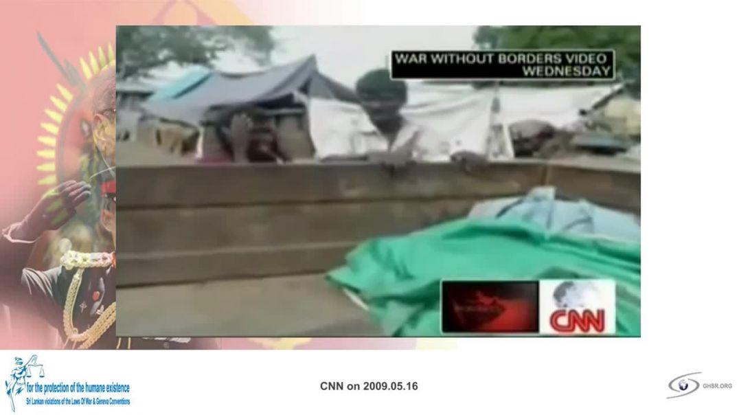 SRI LANKA WAR  episode | war reporting by CNN