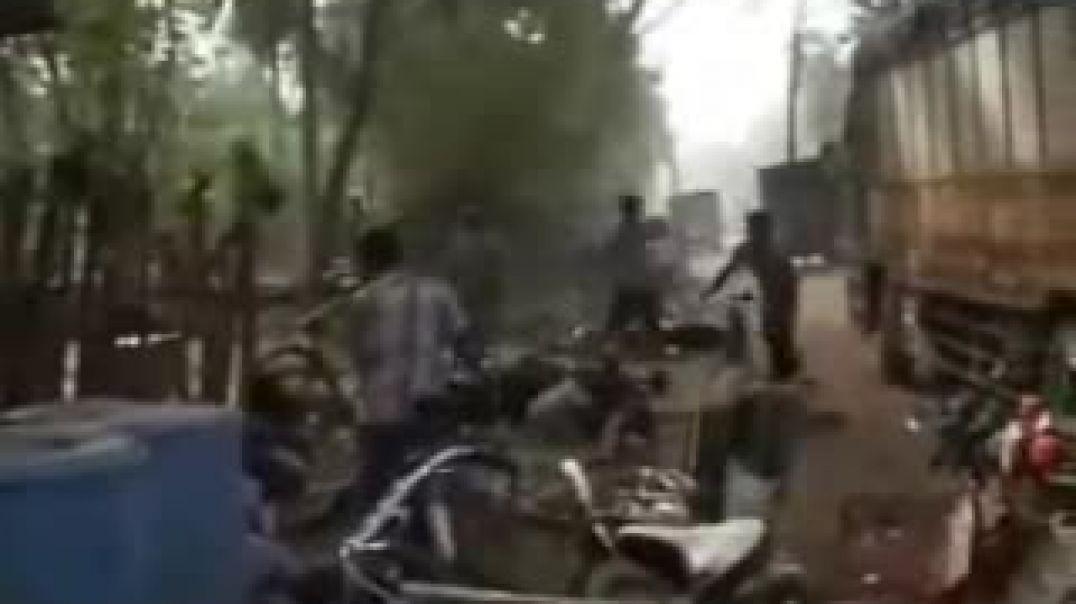 24-1-2009 Srilanka Army Killing Civilians in Saftey Zone Part-1