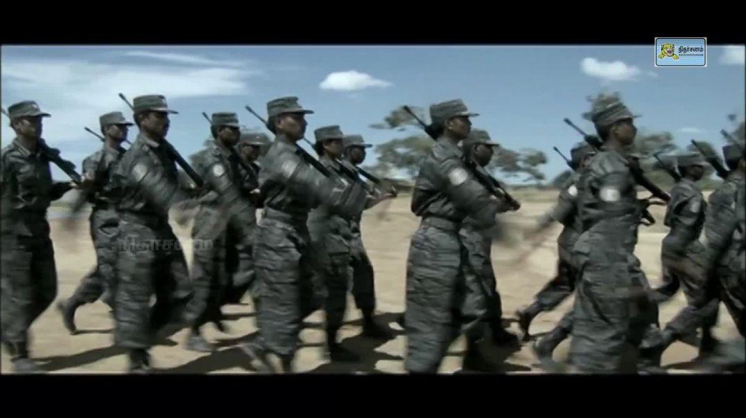 தரைக்கரும்புலிகளின் அணிநடை | கண்கொள்ளாக் காட்சி | Marchpast of LTTE's Land Black Tigers