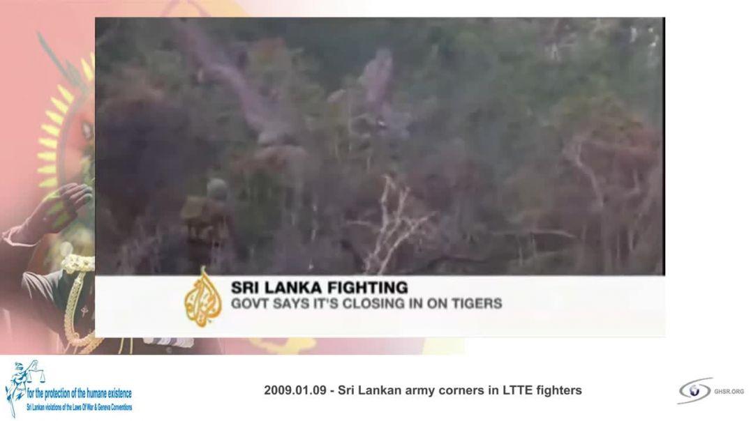 SRI LANKA WAR episode | war reporting 2009 | tamil genocide | tamil massacre