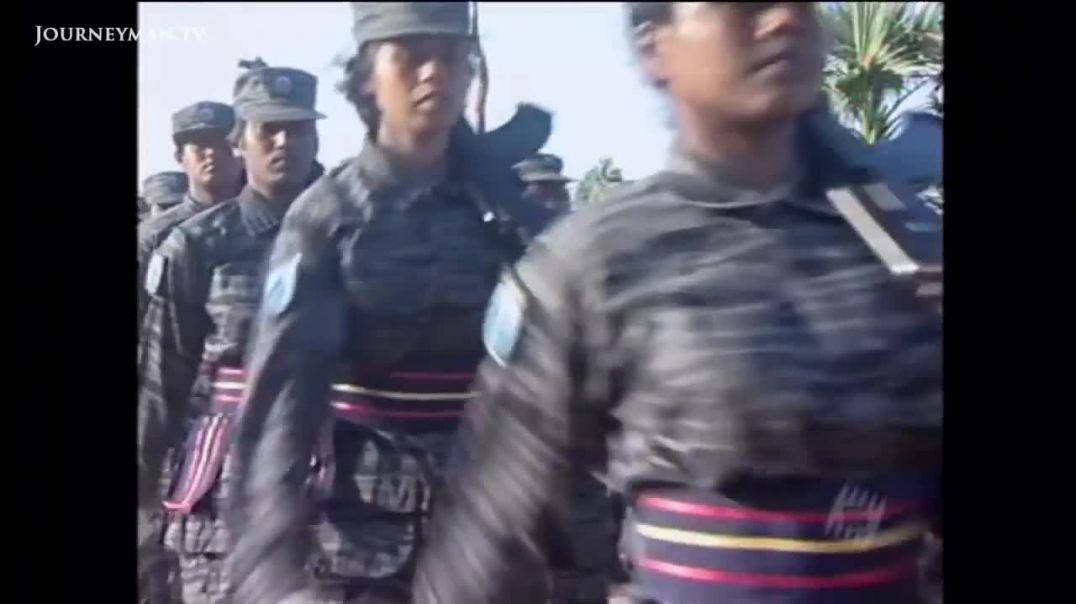 மக்கள் படை பயிற்சியும் கடற்கரும்புலிகளின் படைத்தகையும்(black tigers parade)