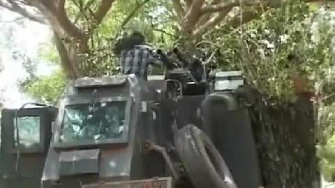 3 May, 2009 - வெள்ளா முள்ளிவாய்க்காலில் சிங்களப்படைகள் மீதான கவசவூர்தித் தாக்குதல்   LTTE attack