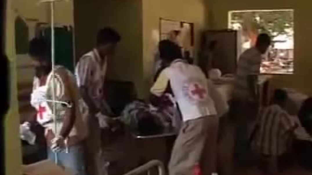 7-2-2009 sri lankan cluster bomb attack on ptk hospital genocide of tamils in sri lanka