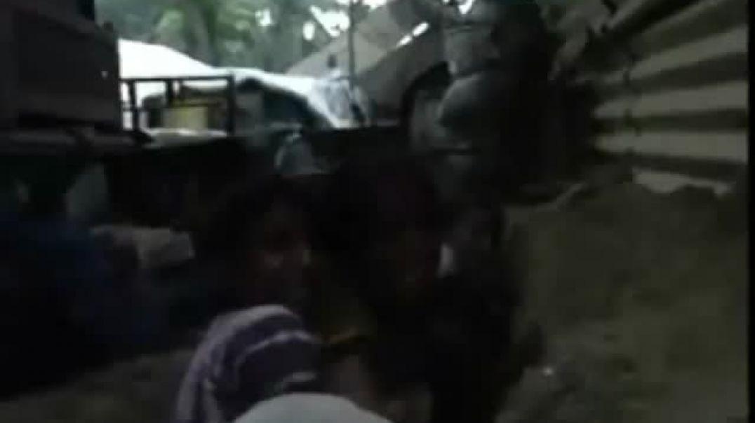 29-1-2009 Vanni Peoples bunker life  Please Stop The War