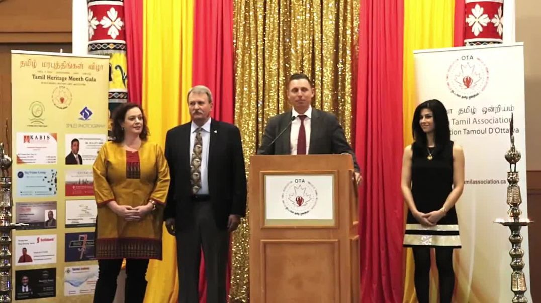 Tamil Heritage Month Gala 2017 Canada