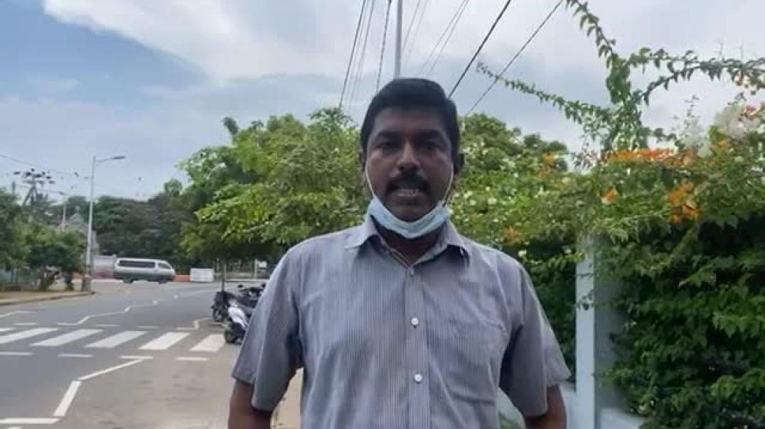 கனகரத்தினம் சுகாஸ் பொலிஸ் அடாவடி பற்றி - Sugash Kanagaratnam on Police Brutality