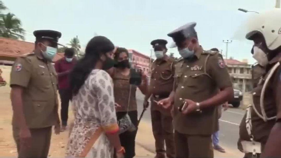 Sri Lankan Police - இலங்கை காவல்துறையின் அட்டூளியங்கள்